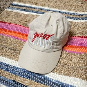 Guess Jeans Dad Hat Embroidered Logo One Size IGC